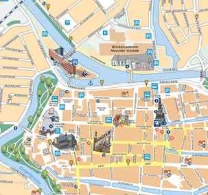 Discover even the narrowest streets with our citymap